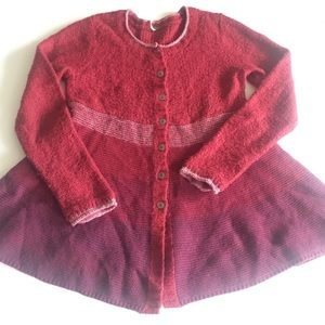 FREE PROPLE Button Down Cardigan Size L